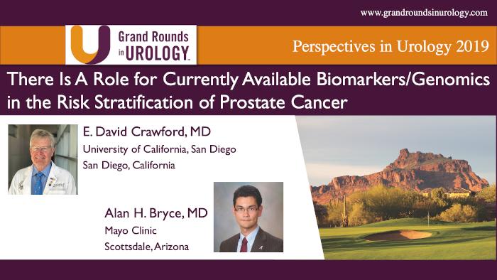 Dr. Bryce & Dr. Crawford - Genomics & Biomarkers Prostate Cancer Risk Stratification