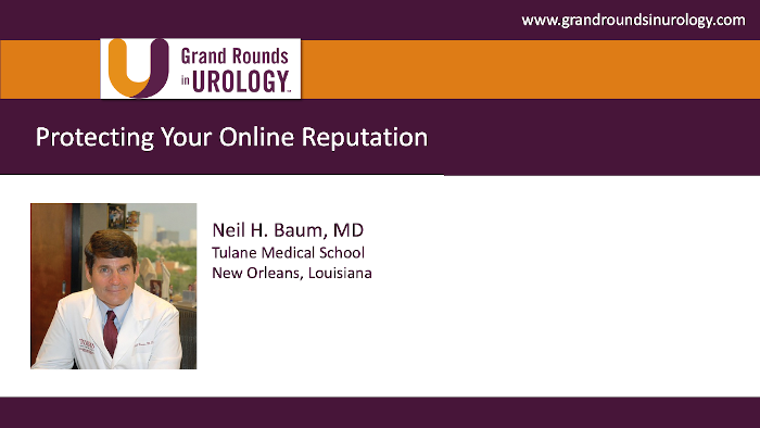 Dr. Baum - Protecting Your Online Reputation