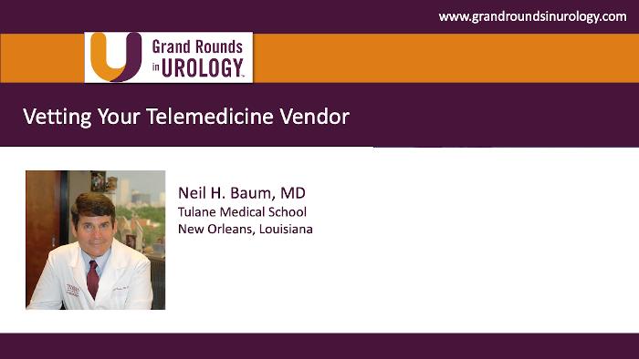 Dr. Baum - Telemedicine Vendor