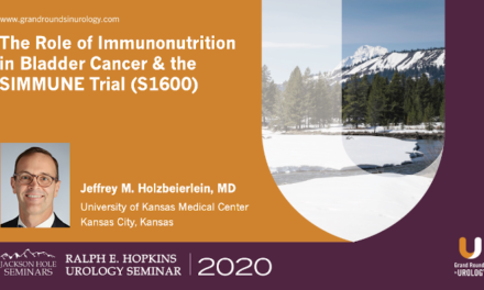 The Role of Immunonutrition in Bladder Cancer & the SIMMUNE Trial (S1600)
