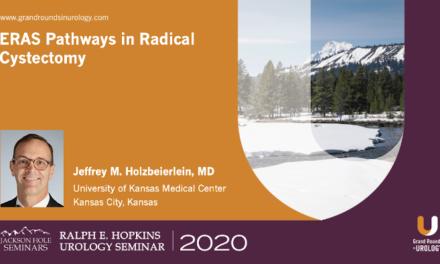 ERAS Pathways in Radical Cystectomy