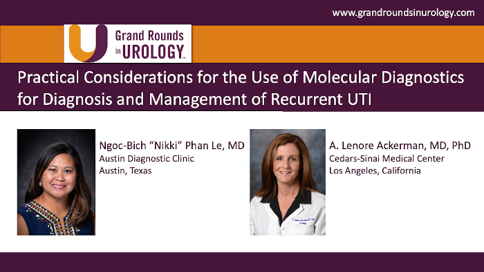 Dr. Le - Molecular Diagnostics Recurrent UTI