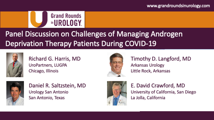 Drs. Harris, Langford & Saltzstein - Androgen Deprivation Therapy COVID-19