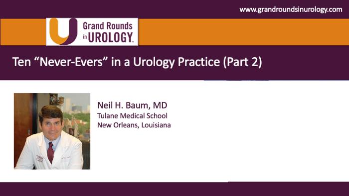 Dr. Baum - Urology Practice Management