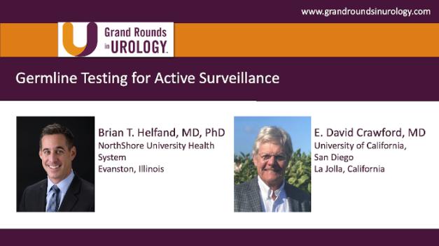 Germline Testing for Active Surveillance