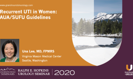 Recurrent UTI in Women: AUA/SUFU Guidelines
