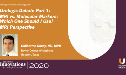 Urologic Debate Part 1: MRI vs. Molecular Markers – Which One Should I Use? MRI Perspective