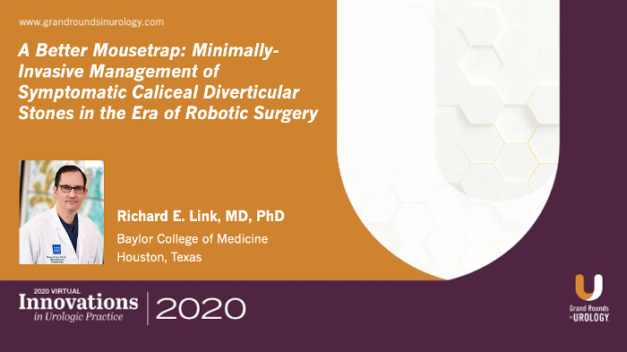 A Better Mousetrap: Minimally-Invasive Management of Symptomatic Caliceal Diverticular Stones in the Era of Robotic Surgery