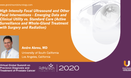 HIFU Focal Therapy: Prostate Cancer – Emerging Data and Clinical Utility vs. Standard Care