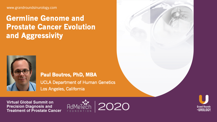 Dr. Boutros - Germline Genetics Prostate Cancer