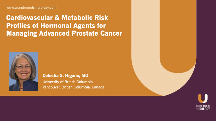 Dr. Higano - Cardiovascular Risk Hormonal Agents