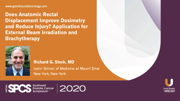 Does Anatomic Rectal Displacement Improve Dosimetry and Reduce Injury?